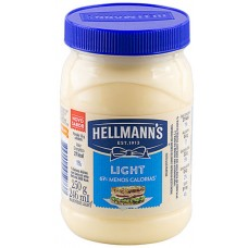 MAIONESE HELLMANNS POTE LIGHT 6x250G