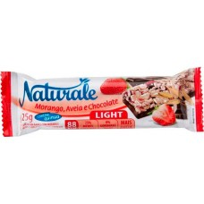 CEREAL BARRA NATURALE LIGHT MORANGO AVEIA CHOCOLATE 24X25G