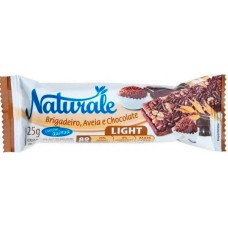 CEREAL BARRA NATURALE LIGHT BRIGADEIRO AVEIA CHOCOLATE 24X25G