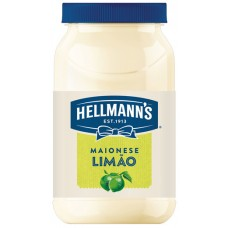 MAIONESE HELLMANNS POTE LIMAO 1X500G