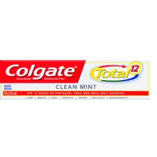 CRD COLGATE TOTAL 12 CLEAN MINT 12X90G