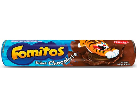 BISC FOMITOS RECH CHOCOLATE 1X100G