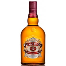 WHISKY CHIVAS REGAL 12 YEARS. 1X1L