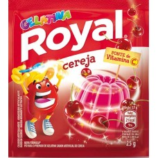 GELATINA ROYAL CEREJA 15X25G