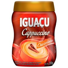CAFE IGUACU CAPPUCCINO CHOCOLATE POTE 1X200G