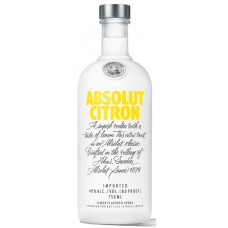 VODKA ABSOLUT CITRON 1X750ML