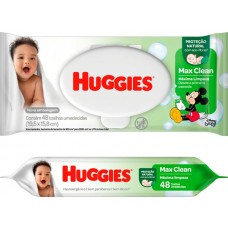 LENCO UMED HUGGIES MAX CLEAN 1X48UN