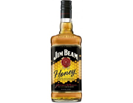 LICOR JIM BEAM HONEY WHISKY 1X1L
