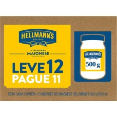 MAIONESE HELLMANNS POTE PROMO 12X500G