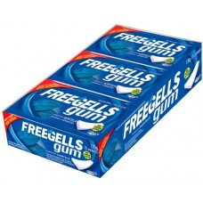 CHICLE FREEGELLS GUM HORTELA 15X1UN
