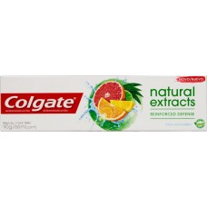 CREME DENTAL COLGATE NATURAL EXTRACTS REINFORCED DEFENSE 12X90G