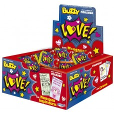CHICLE BUZZY LOVE MORANGO 1x100UN