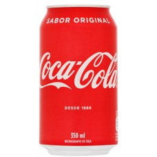 R LATA COCA COLA. 12x350ML