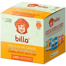 PALITO DENTAL BILLA EMBALADO 1 A 1 1x2000UN