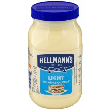 MAIONESE HELLMANNS POTE LIGHT  6x500G