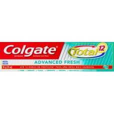 CREME DENTAL COLGATE TOTAL 12 ADVANCED FRESH GEL 12X90G