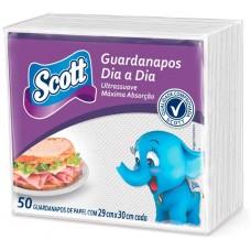 GUARDANAPO SCOTT DIA A DIA 29X30 12X50UN
