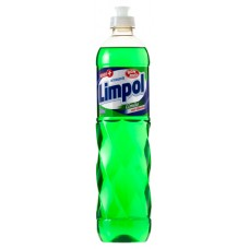 DETERGENTE LIMPOL LIMAO 24x500ML