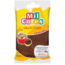 CHOCOLATE GRANULADO MIL CORES PRETO CROCANTE 9x80G