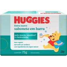 SABONETE HUGGIES BARRA EXTRA SUAVE 12X75G