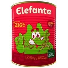 EXTRATO TOMATE ELEFANTE LATA 1X4,08KG PRF