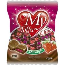 BALA RICLAN MASTIGAVEL MY TOFFEE CHOCOLATE MORANGO 1X600G