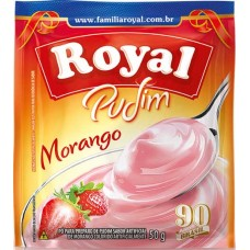 PUDIM ROYAL MORANGO 12X50G