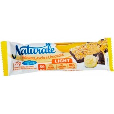 CEREAL BARRA NATURALE LIGHT BANANA AVEIA CHOCOLATE 24X25G