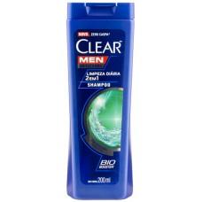 SHAMPOO CLEAR MEN LIMPEZA DIARIA 2 EM 1 1X200ML_M
