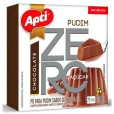 PUDIM APTI ZERO CHOCOLATE 12X30G