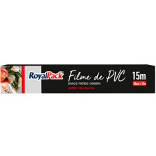FILME PVC ROYAL PACK 28CMX15M 1X1UN