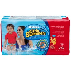 FRALD HUGGIES LITTLE SWIMMER PISCINA L G 1X10UN L G