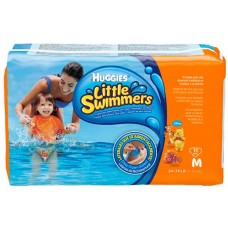 FRALD HUGGIES LITTLE SWIMMER PISCINA M 1X11UN M