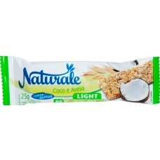 CEREAL BARRA NATURALE LIGHT COCO AVEIA 24X25G