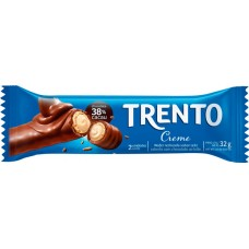 CHOCOLATE BARRA PECCIN TRENTO CREME WAFER 16X32G