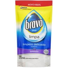 LIMPADOR BRAVO COM BRILHO REFIL LAVANDA 1X500ML