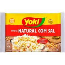 PIPOCA MICRO YOKI NATURAL COM SAL 1X100G