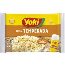 PIPOCA MICRO YOKI TEMPERADA TOQUE CHEF 1X100G