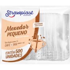 TALHER STRAWPLAST MEXEDOR PEQUENO DESCARTAVEL 1X500UN