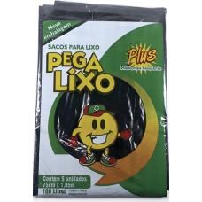 SACO LIXO PEGA LIXO PLUS 100L 25x5UN