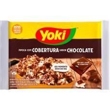 PIPOCA MICRO YOKI COBERTURA CHOCOLATE 1X160G