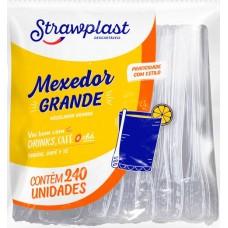 TALHER STRAWPLAST MEXEDOR GRANDE DESCARTAVEL 1X240UN