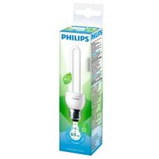 LAMPADA PHILIPS FLUORESCENTE COMPACTA STICK BRANCA 14W 806LM 1X1UN 60W