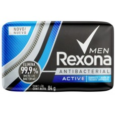 SABONETE REXONA BARRA MEN ACTIVE 12X84G