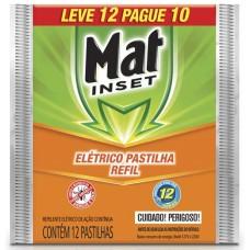 INSETICIDA MAT INSET REFIL PASTILHA 20x12UN