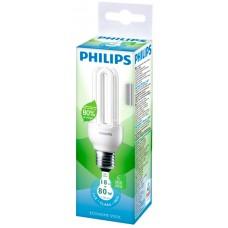 LAMPADA PHILIPS FLUORESCENTE COMPACTA STICK BRANCA 18W 1066LM 1X1UN 80W