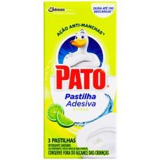 DESINFETANTE PATO PASTILHA ADESIVA CITRUS 1X3UN