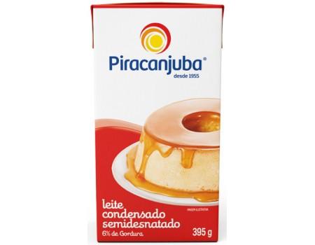 LEITE CONDENSADO PIRACANJUBA CX 1X395G