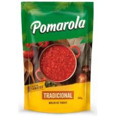 MOLHO POMAROLA TOMATE TRADICIONAL SACHE 1X340G