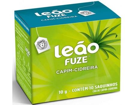 CHA LEAO FUZE 10S CAPIM CIDREIRA 1X10G